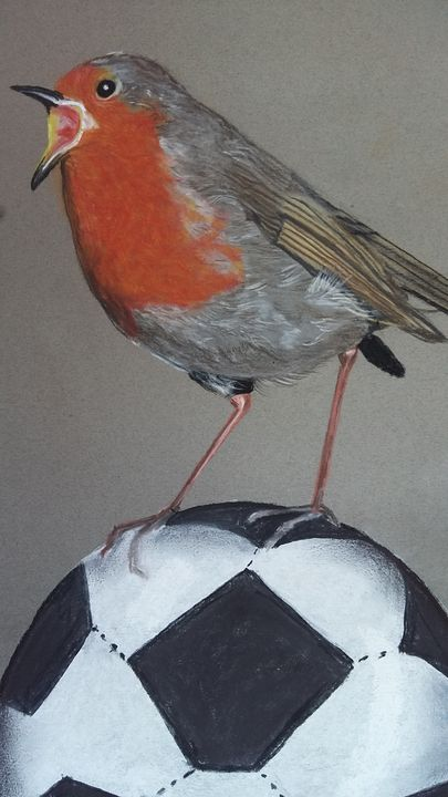 On the ball - Wildlife in art