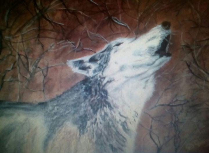 Howler - Wildlife in art