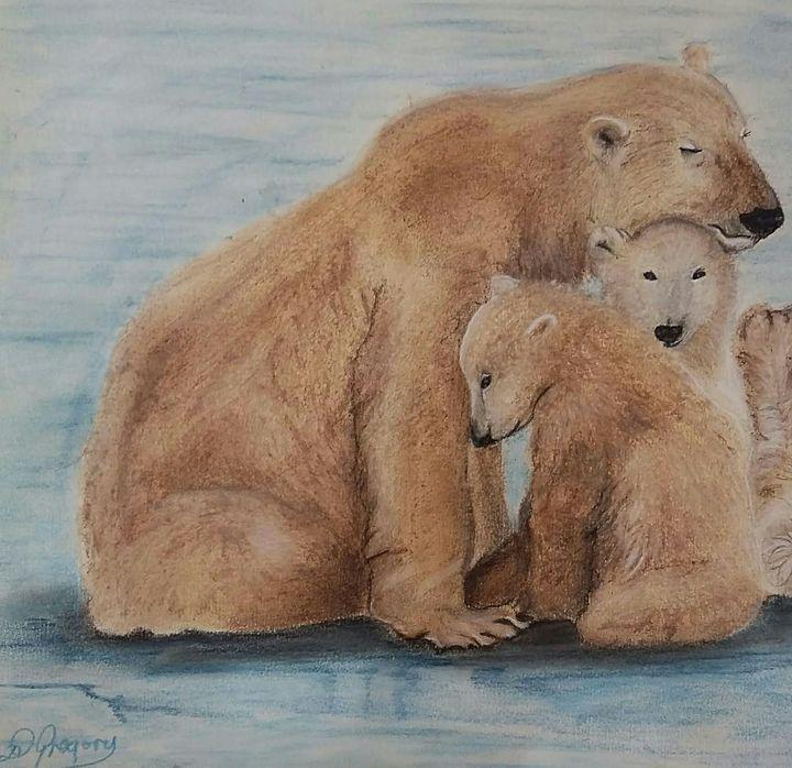 Polar love - Wildlife in art