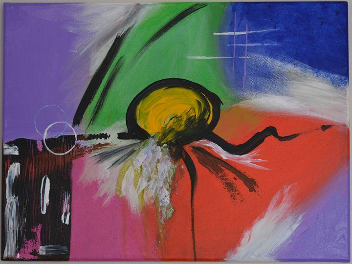 Abstract Painting - Kanchan's Artwork