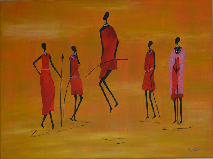 Massai - Kanchan's Artwork