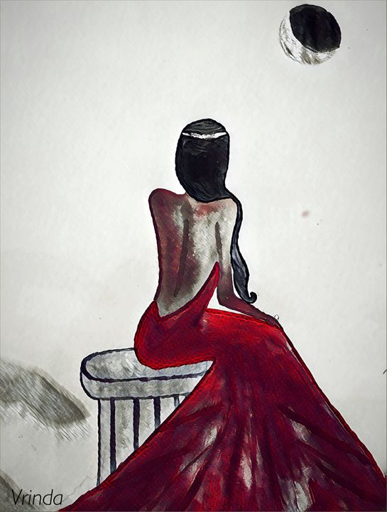 The woman in red -  Shootinstars247
