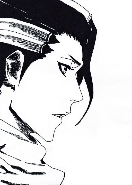 Bleach Kuchiki Byakuya - Reiter Anett