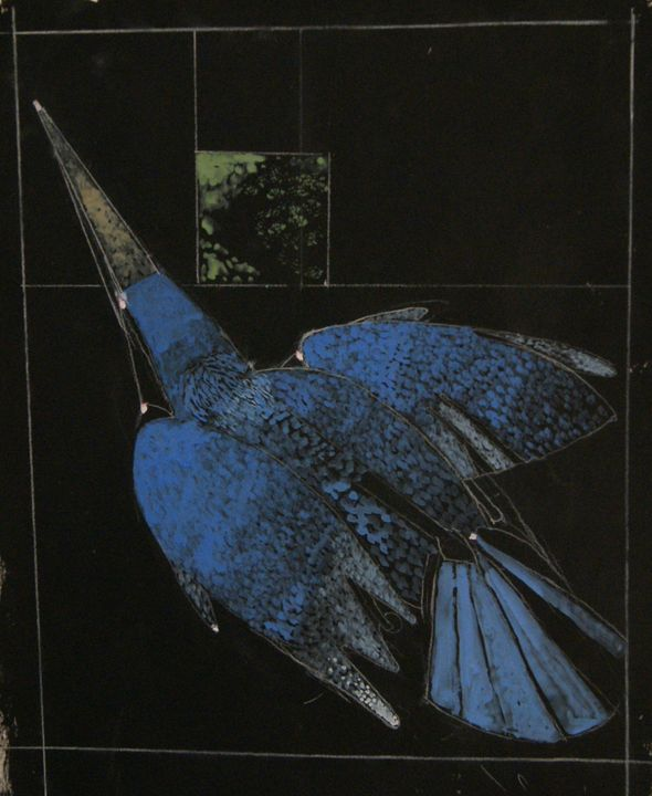 Blue Bird Imagined - Leon Waller