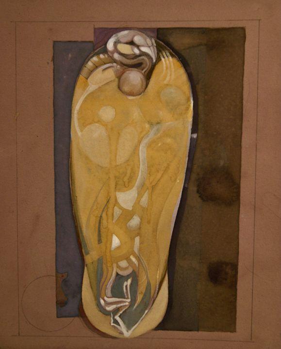 Mummified Vulture - Leon Waller