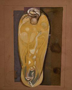 Mummified Vulture