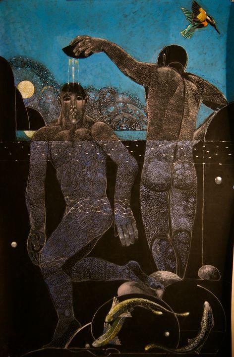 The Kingdfisher, John and Jesus - Leon Waller
