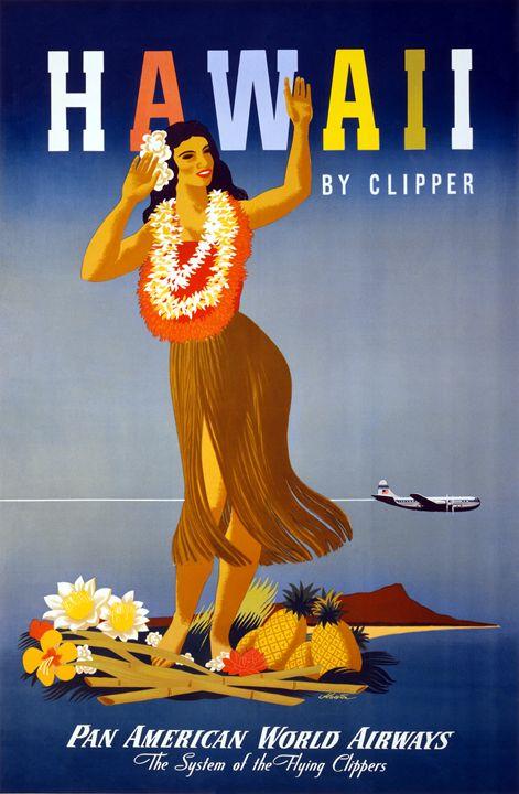 Pan American World Airways - Vintage Prints