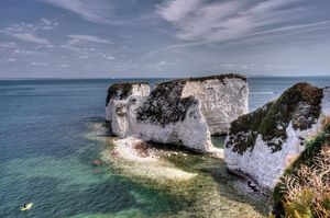 Canoeing Around Old Harry - JT54Photography