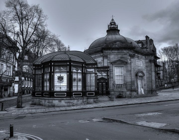 The Royal Pump Room Monochrome - JT54Photography