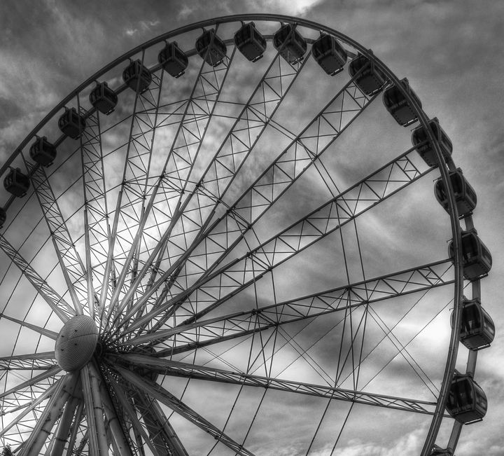 Ferris Wheel Abstract - JT54Photography