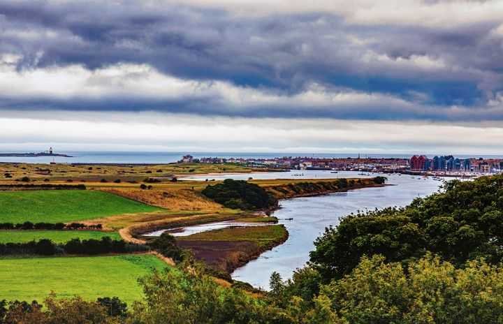 Amble And The River Coquet - JT54Photography