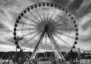 Big Wheel Black And White