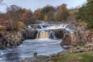 Low Force Waterfall in Teesdale