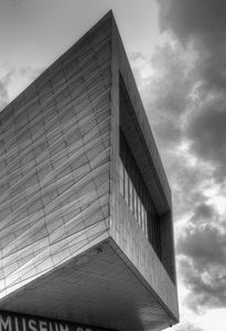 Abstract Museum Monochrome