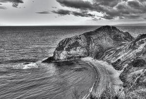 Lonely Cove Monochrome