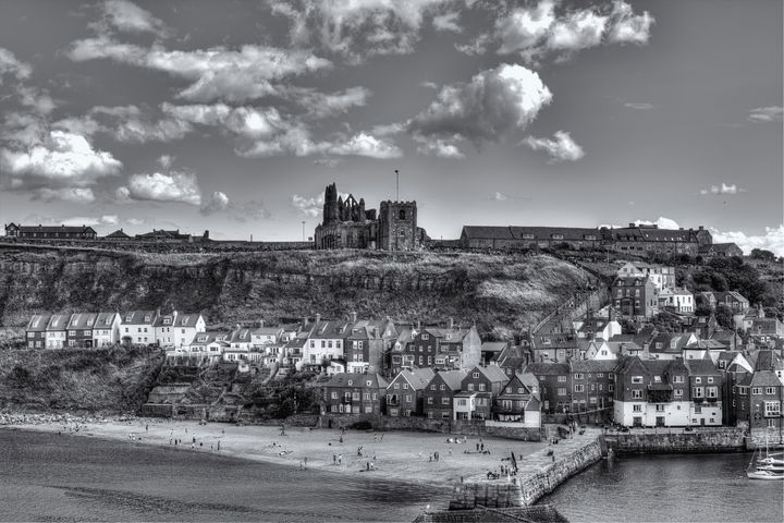 The Port and Seaside Town Of Whitby - JT54Photography