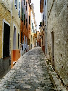 Street In Menorca