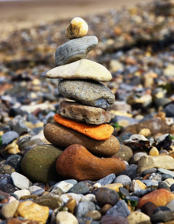 Pebble Sculpture - JT54Photography