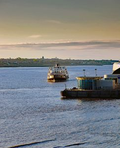 Ferry Across The River Mersey