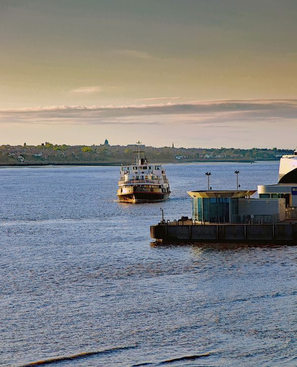 Ferry Across The River Mersey - JT54Photography
