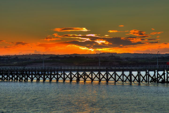 Amble Pier At Sunset - JT54Photography