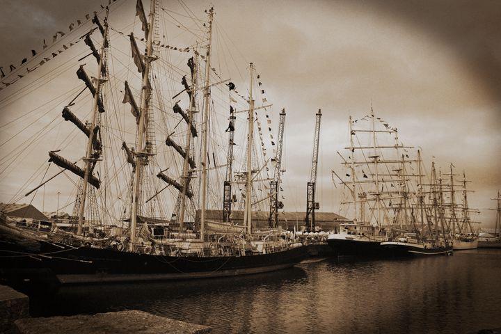 Tall Ships 2010 Sepia - JT54Photography