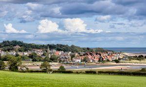 The Coastal Village Of Alnmouth