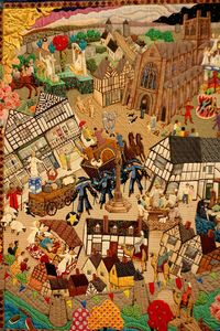 Tapestry Chester Cathedral UK