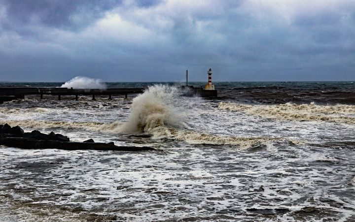 Rough Sea At Amble - JT54Photography