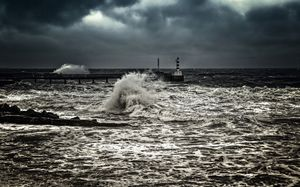 Wild Sea At Amble