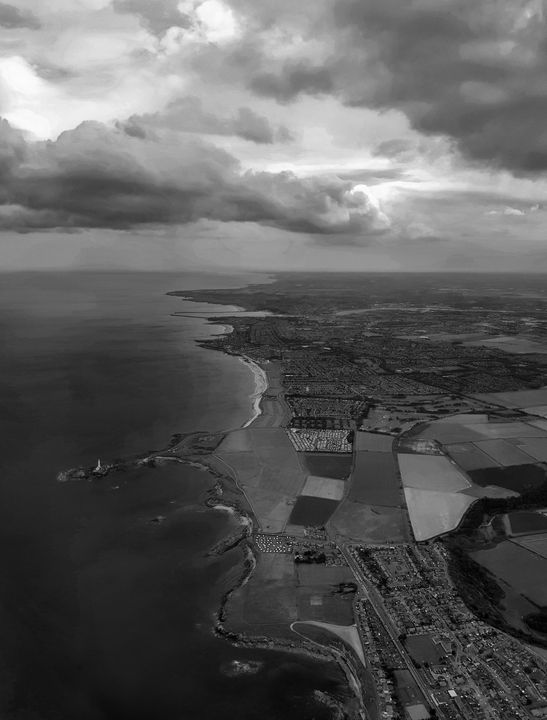 Aerial View The Yorkshire Coastline - JT54Photography