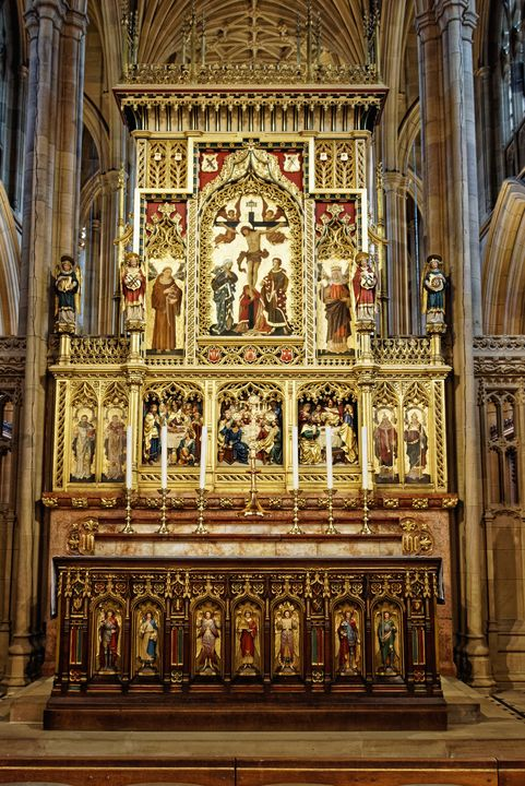Cathedral Altar - JT54Photography