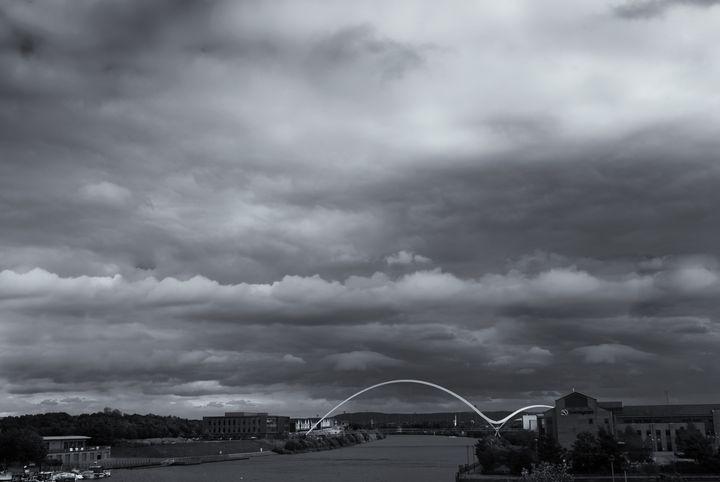 Infinity Bridge Monochrome - JT54Photography
