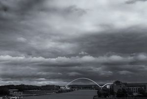 Infinity Bridge Monochrome