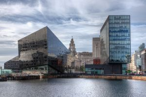 Liverpool Skyline Old and New