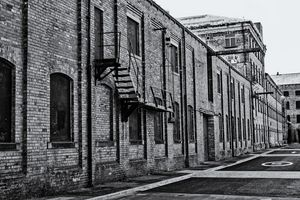 Old Yorkshire Mill Monochrome
