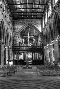 Wakefield Cathedral Monochrome
