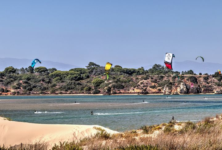 Kite Surfing At Alvor - JT54Photography