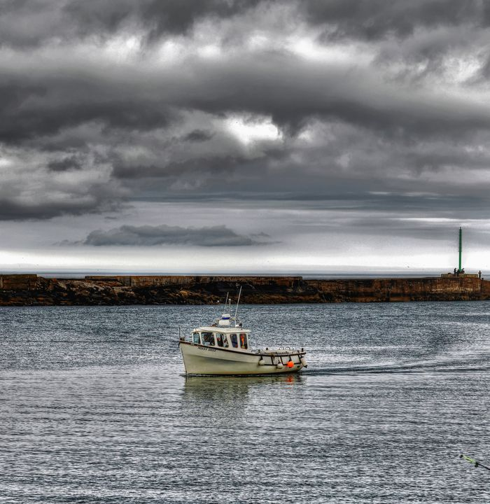 Returning To The Port Of Amble - JT54Photography