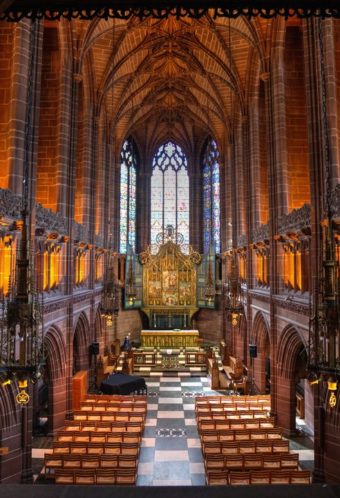 Liverpool Cathedral Lady Chapel - JT54Photography