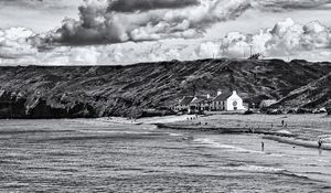 The Ship Inn Saltburn Monochrome