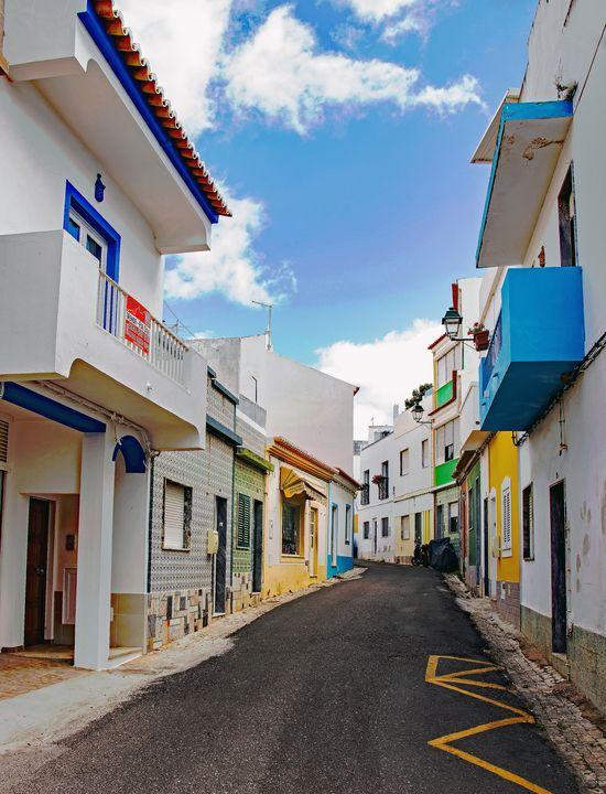 Street in Alvor - JT54Photography