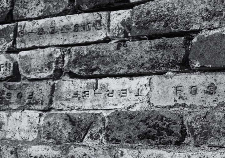 Brick Wall Black And White - JT54Photography