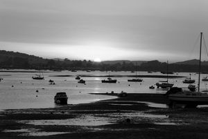 Exmouth Estuary Monochrome