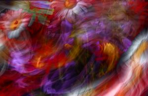 Abstract Flowers Four