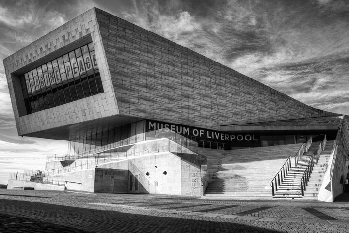 Museum Of Liverpool Monochrome - JT54Photography
