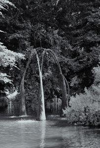 Figure Fountain Three Monochrome
