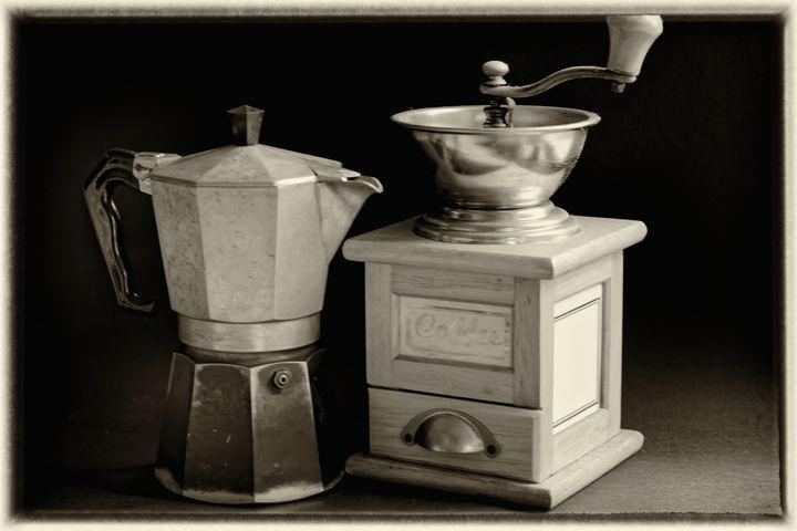 Coffee Pot Still Life - JT54Photography
