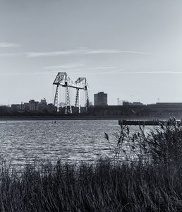 Transporter Bridge Monochrome
